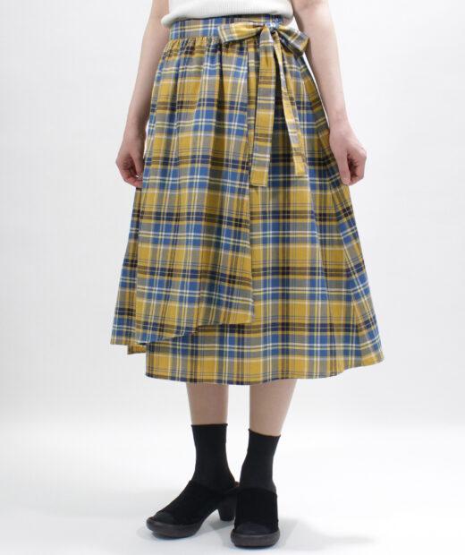 【型紙】ラップスカート